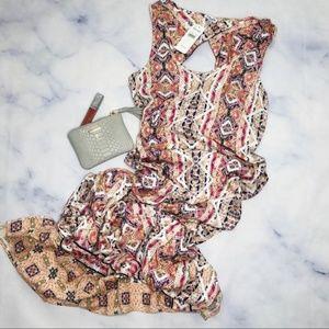 Splendid Taos Border (aztec) maxi dress